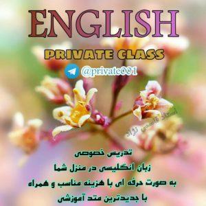 دوره خصوصی زبان انگلیسی در تهران در منزل شما
