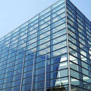 طراحی , تولید و نصب نما اسپایدر شیشه ای