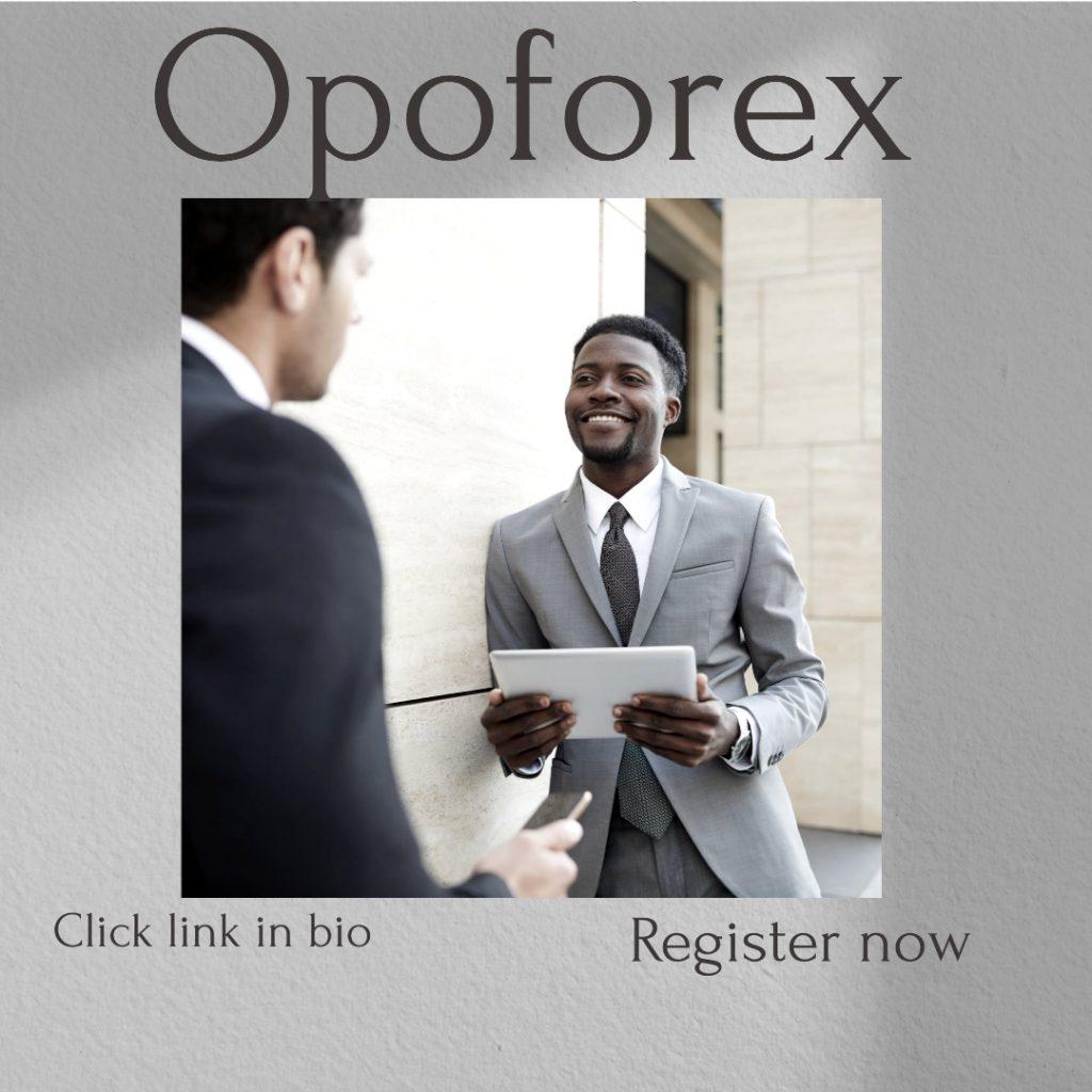 ثبت نام در بروکر اوپو فارکس